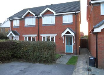 Thumbnail 3 bedroom semi-detached house to rent in Wolfe Close, Purewell, Christchurch