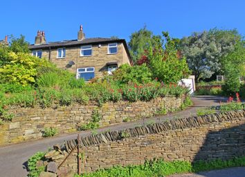 Thumbnail 3 bed terraced house to rent in Fairfields Road, Holmbridge, Holmfirth