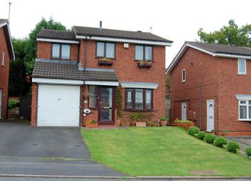 Thumbnail 4 bed detached house for sale in Kendal Close, Stafford