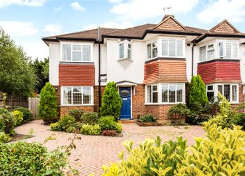 Thumbnail 4 bed semi-detached house for sale in Rectory Close, Long Ditton, Surbiton, Surrey