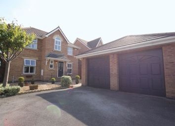 Thumbnail 4 bed detached house for sale in Bullrush Drive, Moreton, Wirral