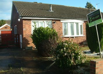 Thumbnail 1 bed semi-detached bungalow for sale in Kestral Drive, Rossington, Doncaster
