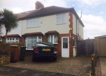 Thumbnail 4 bed semi-detached house to rent in Killester Gardens, Worcester Park