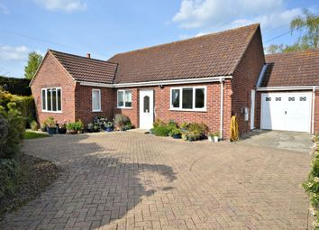 Thumbnail 3 bed detached bungalow for sale in Dereham Road, Garvestone, Norwich