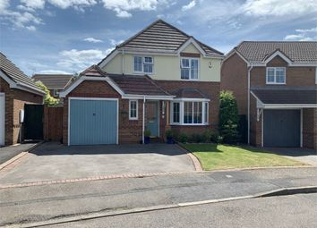 Thumbnail 3 bed detached house for sale in Foxglove Close, Broughton Astley, Leicester