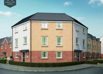 Thumbnail 4 bedroom town house to rent in Oval Crescent, Chase Park, Ellesmere Port
