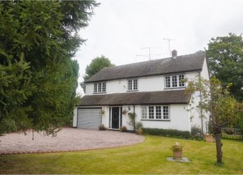 Thumbnail 4 bed detached house for sale in Shrewsbury Street, Market Drayton