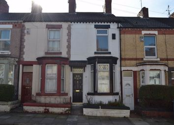 Thumbnail 3 bed terraced house to rent in Harrowby Road, Birkenhead, Merseyside