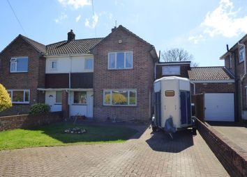 Thumbnail 4 bed semi-detached house for sale in Bourne Close, Winterbourne, Bristol