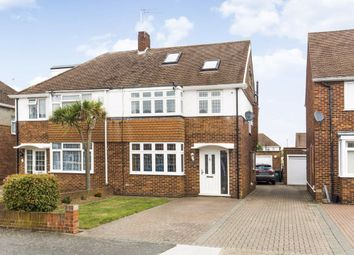 Thumbnail 5 bed semi-detached house for sale in Dane Road, Ashford