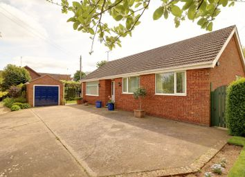 Thumbnail 3 bed detached bungalow for sale in Burton Road, Thealby, Scunthorpe