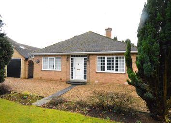 Thumbnail 2 bed detached bungalow to rent in Leicester Road, Narborough, Leicester