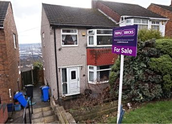 Thumbnail 3 bed semi-detached house for sale in Sandstone Avenue, Sheffield