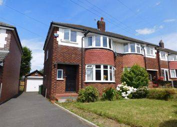 Thumbnail 3 bed semi-detached house for sale in Alan Drive, Marple, Stockport