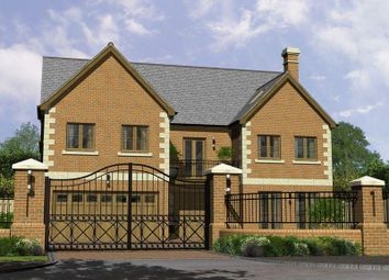 Thumbnail 6 bed detached house for sale in Ashford Crescent, Grange Farm, Milton Keynes