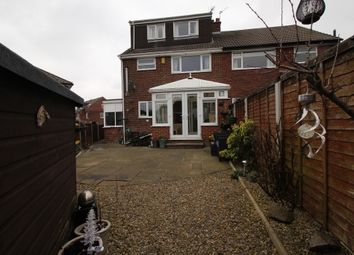 Thumbnail 4 bed semi-detached house for sale in Moseley Wood Drive, Cookridge, Leeds