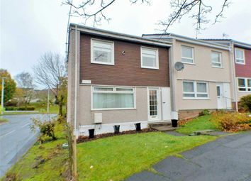 Thumbnail 3 bed end terrace house for sale in Troon Court, Greenhills, East Kilbride