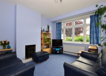 Thumbnail 3 bed terraced house for sale in Stoneleigh Avenue, Worcester Park, Surrey