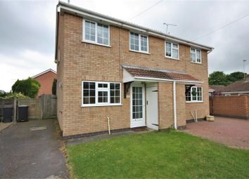 Thumbnail 3 bed semi-detached house for sale in Pollard Way, Ravenstone, Coalville