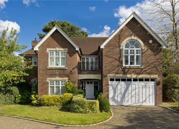Thumbnail 5 bed detached house to rent in Hunting Close, Esher, Surrey