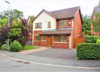 Thumbnail 4 bed detached house for sale in Sevenoak Grove, Prescot