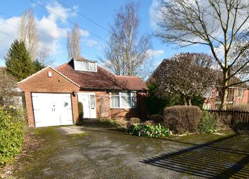 Thumbnail 3 bed detached bungalow for sale in Priory Road, Hall Green, Birmingham