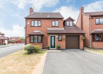Thumbnail 4 bed detached house for sale in Bayleaf Crescent, Oakwood, Derby