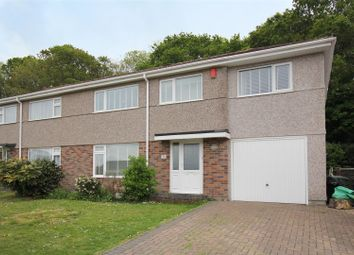 Thumbnail 4 bed semi-detached house to rent in Greenhill Close, Plymstock, Plymouth
