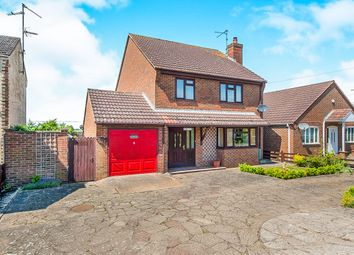 Thumbnail 4 bed detached house for sale in Fridaybridge Road, Elm, Wisbech