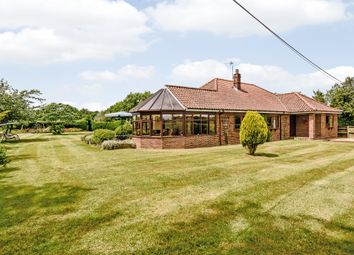 Thumbnail 4 bed detached bungalow for sale in Intwood Lane, East Carleton, Norwich