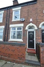 Thumbnail 2 bed terraced house for sale in Burgess Street, Stoke-On-Trent, Staffordshire