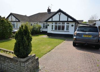Thumbnail 3 bed semi-detached bungalow for sale in Silverdale Drive, Waterlooville