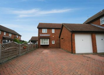 Thumbnail 4 bed detached house for sale in Fieldfare Green, Luton, Bedfordshire