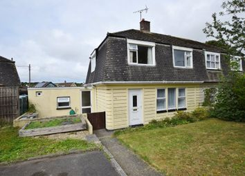 Thumbnail 3 bed semi-detached house to rent in Highfield Avenue, St. Columb