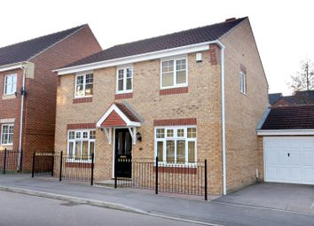Thumbnail 4 bed detached house for sale in Topaz Grove, Berry Hill, Mansfield