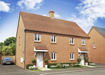 "Thumbnail 3 bed terraced house for sale in ""The Dereham"" at Ashton Road, Roade, Northampton"