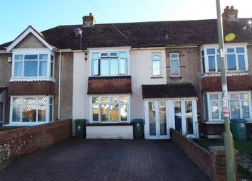 Thumbnail 3 bed terraced house for sale in The Crossway, Portchester, Fareham