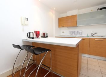 Thumbnail 1 bedroom flat to rent in South Wharf Road, London