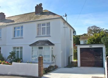 Thumbnail 3 bed semi-detached house to rent in Melvill Crescent, Falmouth
