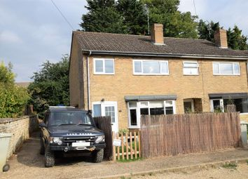 Thumbnail 3 bed semi-detached house for sale in Deweys Close, North Luffenham, Oakham