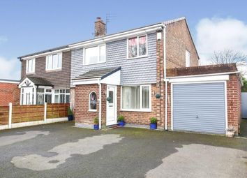 Thumbnail 3 bedroom semi-detached house for sale in Conway Drive, Hazel Grove, Stockport, Cheshire