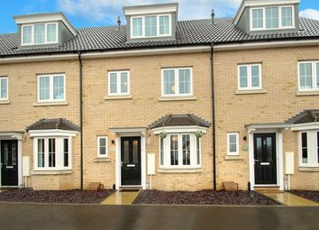 Thumbnail 3 bed town house for sale in Osprey Drive, Stowmarket