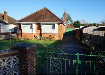 Thumbnail 2 bedroom detached bungalow for sale in Francis Avenue, Bournemouth