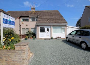 Thumbnail 3 bed semi-detached house for sale in Russell Avenue, Colwyn Bay
