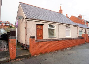 Thumbnail 2 bed detached bungalow for sale in School Lane, Wrexham