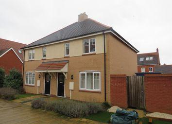 3 bed semi-detached house for sale in Maxwell Walk, Northampton NN5