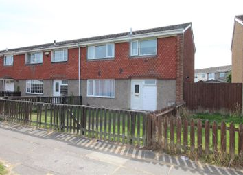 Thumbnail 3 bed terraced house for sale in Fountains Avenue, Grimsby