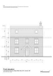Thumbnail 5 bed detached house for sale in Broughton Road, Croft, Leicester