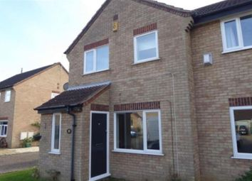 Thumbnail 3 bedroom semi-detached house for sale in Sevenacres, Orton Brimbles, Peterborough