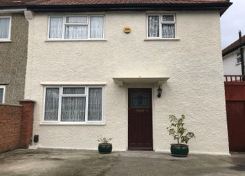 Thumbnail 3 bed semi-detached house to rent in Crowley Crescent, Croydon